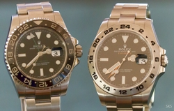 Rolex GMT-C and Explorer II