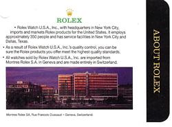 About Rolex
