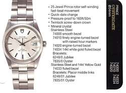Rolex Prince OysterDate Prince