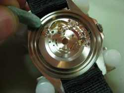 Cleaning Rolex Watch Movement
