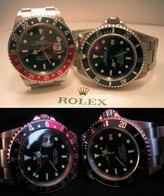 Rolex GMT and SeaDweller