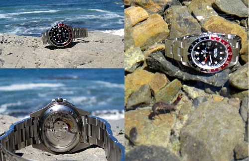 Rolex Big Sur Collage