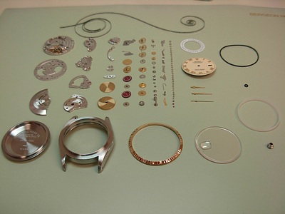 Exploded Rolex 3135